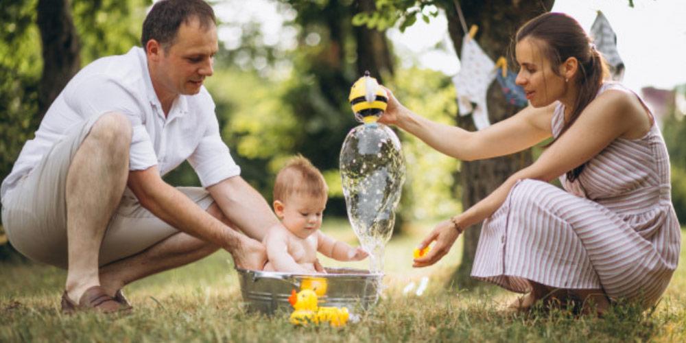 chăm sóc trẻ sơ sinh mùa hè, kinh nghiệm chăm sóc trẻ sơ sinh mùa hè, chăm sóc trẻ sơ sinh vào mùa hè